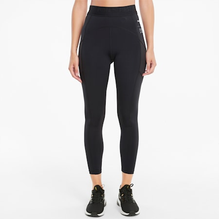 PUMA x FIRST MILE High Waist 7/8 Women's Training Leggings, Puma Black, small