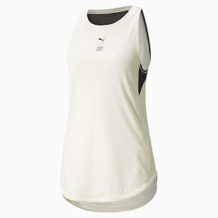 PUMA x FIRST MILE Women's Training Tank Top, Ivory Glow, small