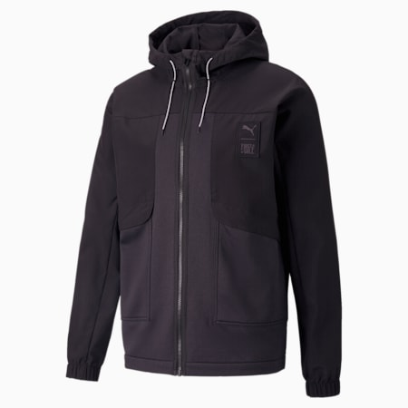 푸마 x 퍼스트 마일 우븐 트레이닝 재킷/TRAIN FIRST MILE WOVEN JCKET, Puma Black, small-KOR