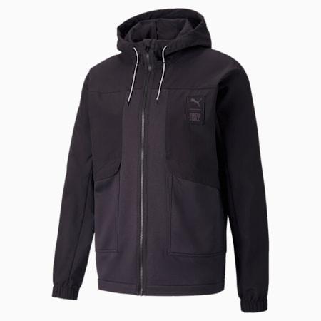 PUMA x FIRST MILE Woven Men's Training Jacket, Puma Black, small-SEA
