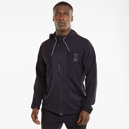 PUMA x FIRST MILE Woven Men's Training Jacket, Puma Black, small-GBR
