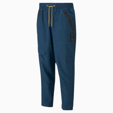 Pantalon d'entraînement tissé PUMA x FIRST MILE, homme, Bleu intense, petit