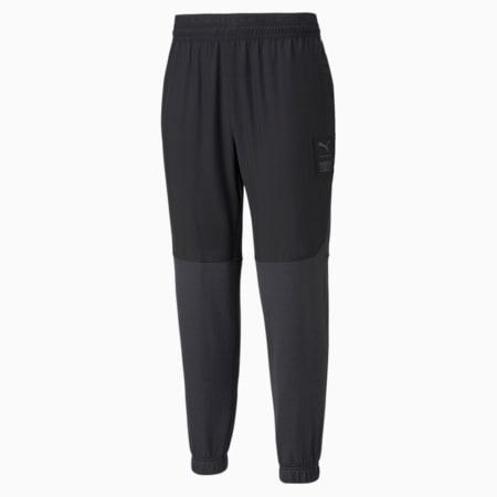 PUMA x FIRST MILE FT Men's Training Pants, Puma Black, small-SEA