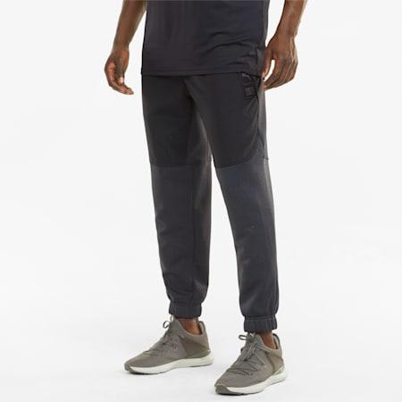 PUMA x FIRST MILE FT Men's Training Pants, Puma Black, small-GBR