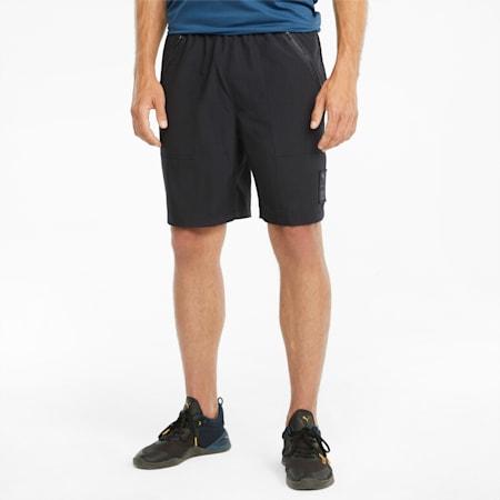 PUMA x FIRST MILE Woven Men's Training Shorts, Puma Black, small-GBR