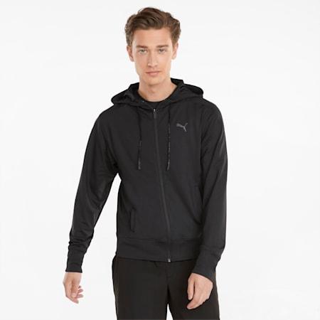 Studio Yogini Men's Training Jacket, Puma Black, small-GBR