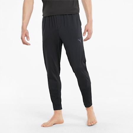 Studio Yogini Men's Training Joggers, Puma Black, small-GBR