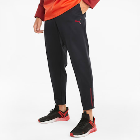 Fade PWR Fleece Men's Training Jogging Bottoms, Puma Black, small