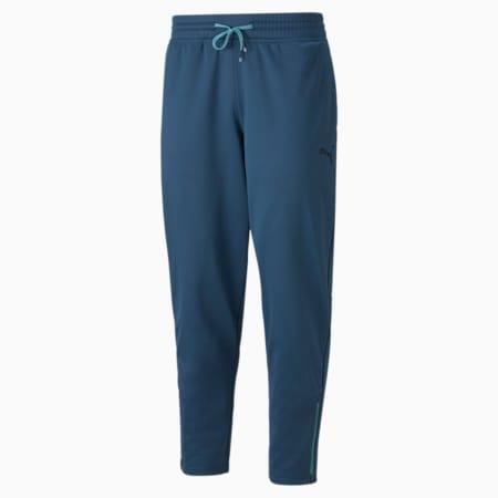 Pantalones de entrenamiento de polar Fade PWR para hombre, Intense Blue, pequeño