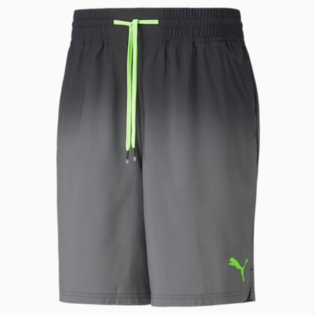 """Shorts de entrenamiento de punto Fade Printed 7"""" para hombre, Puma Black, pequeño"""