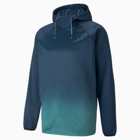 Fade PWR Fleece Men's Training Hoodie, Intense Blue, small-GBR