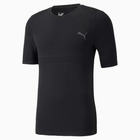EVOKNIT+ Short Sleeve Men's Training Tee, Puma Black, small-GBR