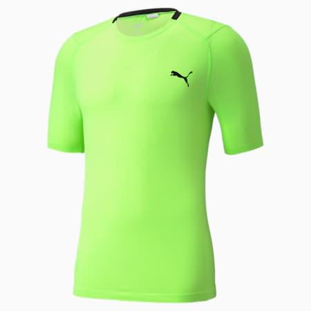 EVOKNIT+ Short Sleeve Men's Training Tee, Green Glare, small