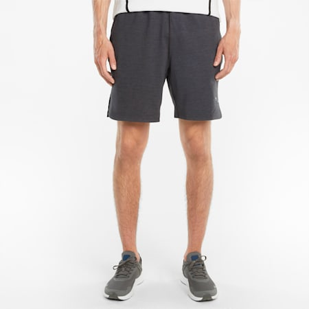 "CLOUDSPUN 8"" Men's Training Shorts, Puma Black Heather, small-GBR"
