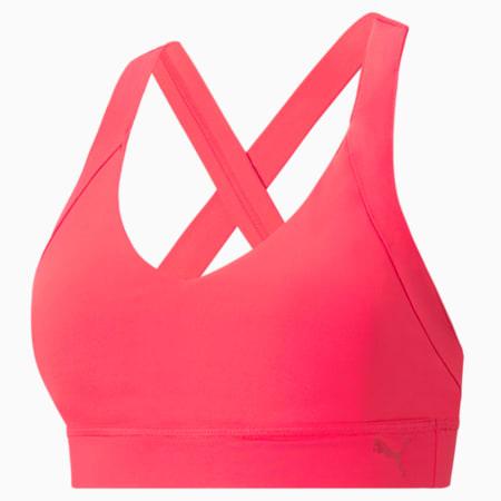 Own It Mid Impact Women's Training Sports Bra, Sunblaze, small