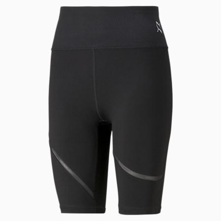 Shorts de entrenamiento tipo ciclista Exhale Mesh Curve para mujer, Puma Black, pequeño