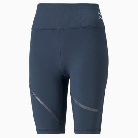 Shorts de entrenamiento tipo ciclista Exhale Mesh Curve para mujer, Spellbound, pequeño