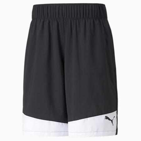 Shorts de entrenamiento de tejido plano y entrepierna de 25 cm para hombre Favourite, Puma Black-Puma White, small