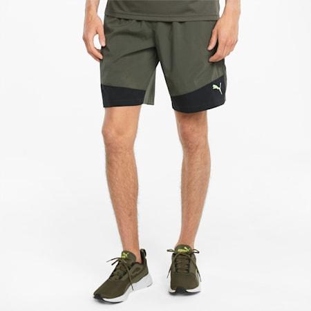"Favourite Woven 10"" Men's Training Shorts, Grape Leaf-Puma Black, small"