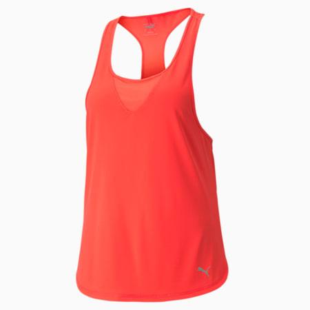 Camiseta sin mangas para correr COOLADAPT para mujer, Sunblaze, pequeño