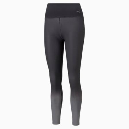 STUDIO Ombre lange sportlegging met hoge taille dames, Puma Black-Asphalt-ombre print, small