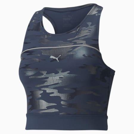 Camiseta sin mangas para correr corta High Shine Cropped para mujer, Spellbound, pequeño