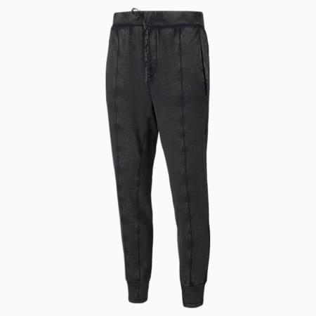 Pantalón de entrenamiento Studio Wash para hombre, Puma Black, pequeño