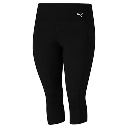 High Waist 3/4 Women's Training Leggings, Puma Black, small