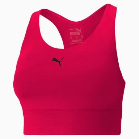 Reggiseno sportivo All-In Long Line donna, Persian Red, small