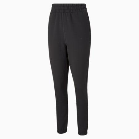 PUMA x GOOP Women's Training Track Pants, Puma Black, small-GBR