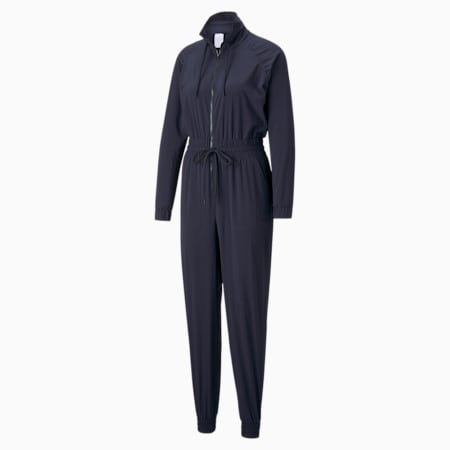 PUMA x GOOP Windbreaker jumpsuit dames, Dark Sapphire, small