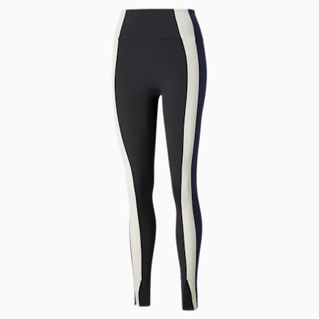 Forever Luxe High Waist Women's Training Leggings, Puma Black-Peacoat, small