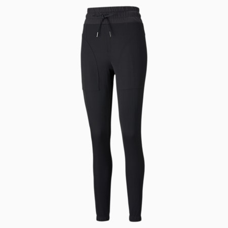 Forever Luxe Women's Training Joggers, Puma Black, small-GBR