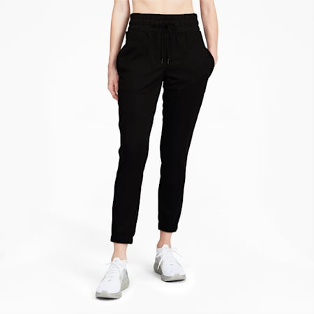 PantalónForever Luxe para mujer, Puma Black, pequeño