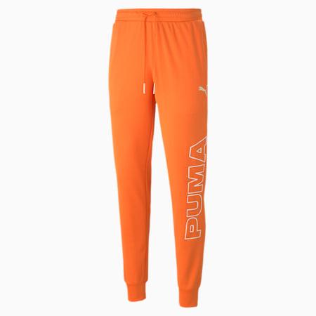 Pantalón de entrenamientoExcite para hombre, Zanahoria, pequeño