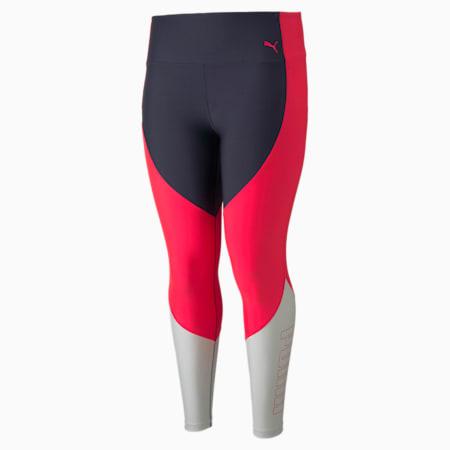 High Waist 7/8 Women's Training Leggings, Sunblaze-Spellbound, small-GBR