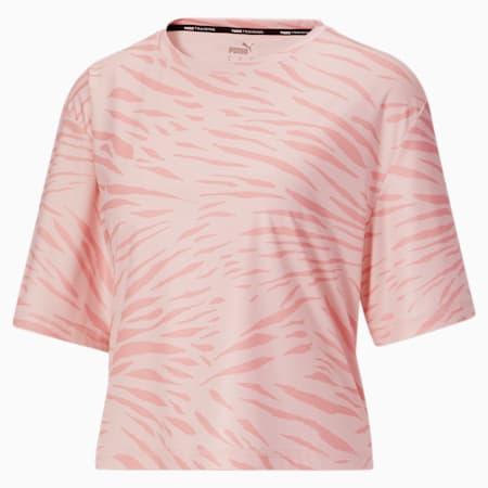 Camiseta Performance AOP para mujer, Loto, pequeño