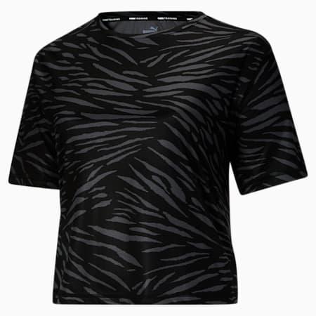 T-shirt Performance AOP PL, femme, Puma Black, petit