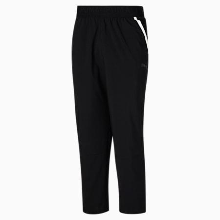 Pantalones de punto de entrenamiento para hombre, Puma Black, pequeño
