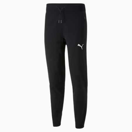N.R.G. evoKNIT Trackster Men's Training Pants, Puma Black, small