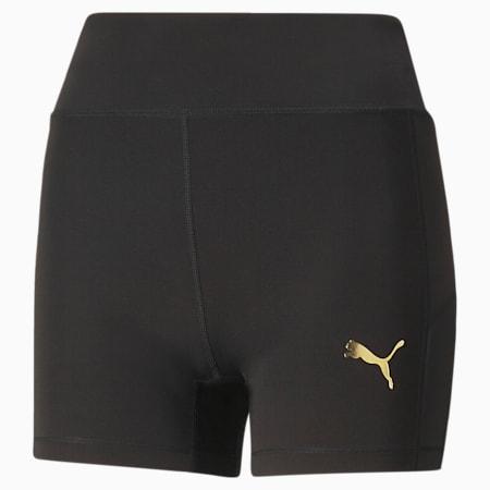 PUMA x PAMELA REIF Mesh Women's Training Shorts, Puma Black, small