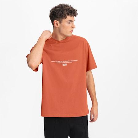 T-shirt Boxy para homem, Autumn Glaze, small