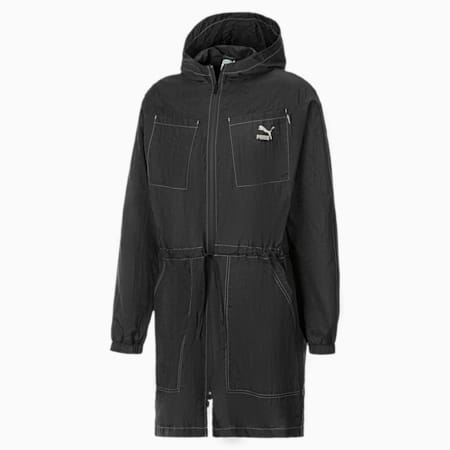 Evolution Statement Men's Coach Jacket, Puma Black, small