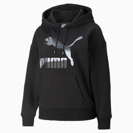 Kangourou à logo Classics, femme, Noir Puma-mat, petit
