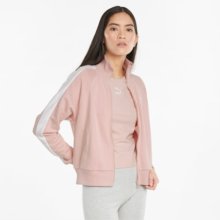 Iconic T7 Women's Track Jacket, Lotus, small