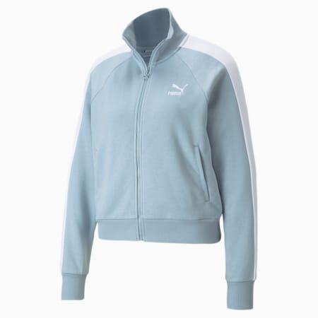 Iconic T7 Women's Track Jacket, Blue Fog, small