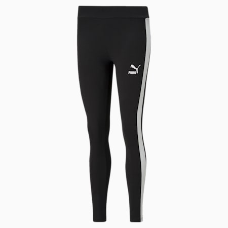 Iconic T7 Mid-Rise Women's Leggings, Puma Black, small-SEA