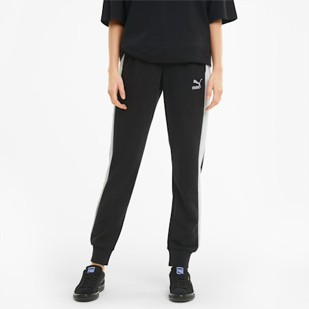 Iconic T7 Women's Track Pants, Puma Black, small