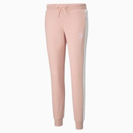 Iconic T7 Women's Track Pants, Peachskin, small-GBR