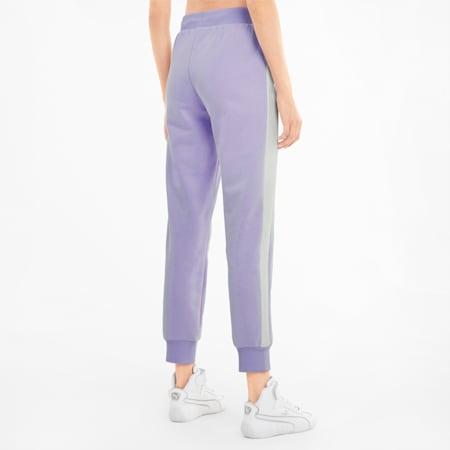 Pantaloni sportivi Iconic T7 donna, Light Lavender, small